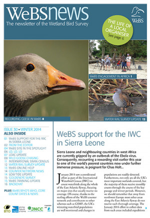 WeBS News issue 30 - winter 2014