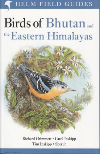 Birds of Bhutan & Eastern Himalayas (cover)