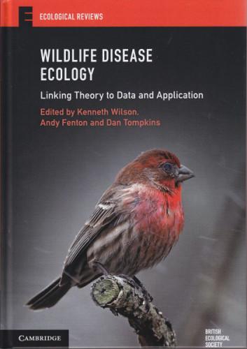 Wildlife Disease Ecology (cover)