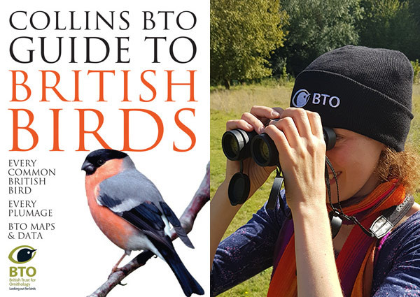 Collins BTO guide and beanie hat