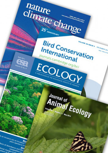 Peer Journal sample covers