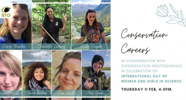 Conservation Careers panellists