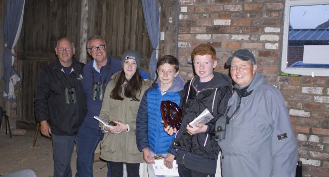Previous Young Birder finalists