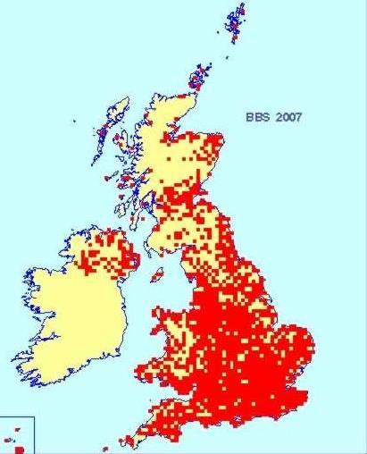 Species distribution maps