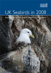UK seabirds in 2008