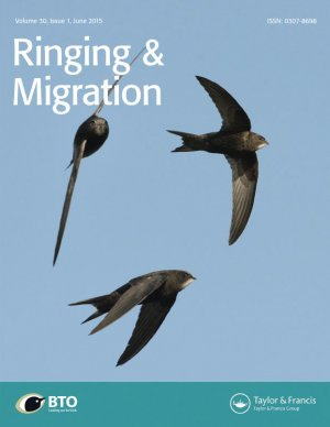 Ringing and Migration journal cover