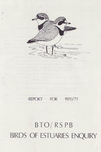 Birds of Estuaries Enquiry 1970-71