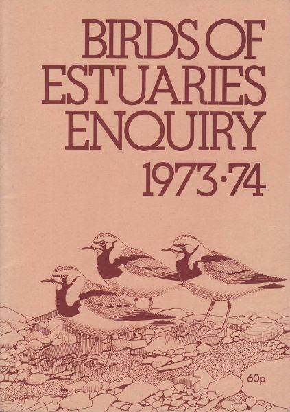 Birds of Estuaries Enquiry 1973-74