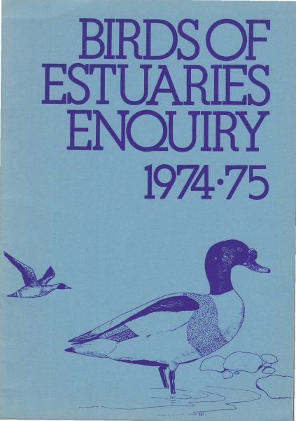 Birds of Estuaries Enquiry 1974-75