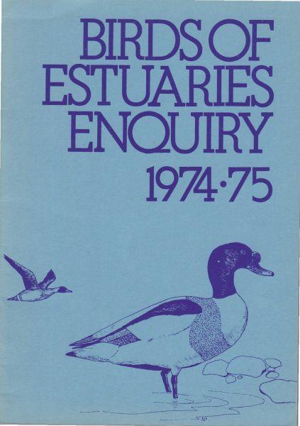 Birds of Estuaries Enquiry 1974-75
