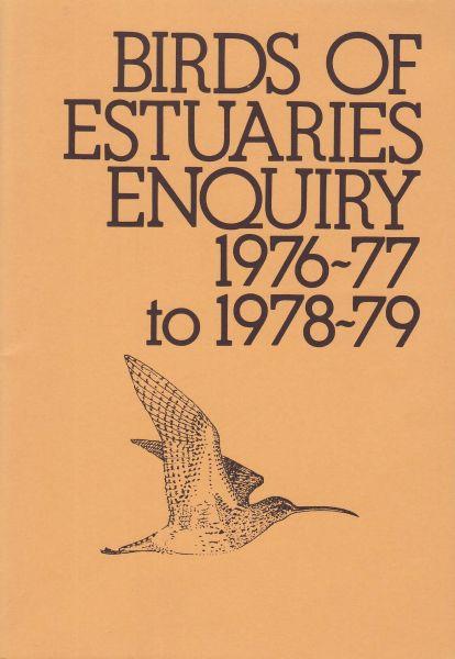 Birds of Estuaries Enquiry 1976-79