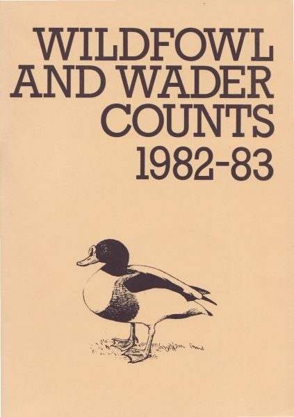 Wildfowl and Wader Counts 1982-83