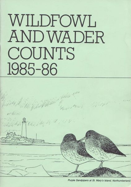 Wildfowl and Wader Counts 1985-86