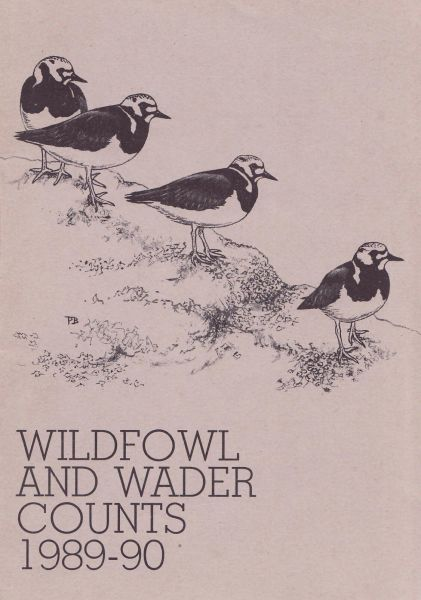 Wildfowl and Wader Counts 1989-90