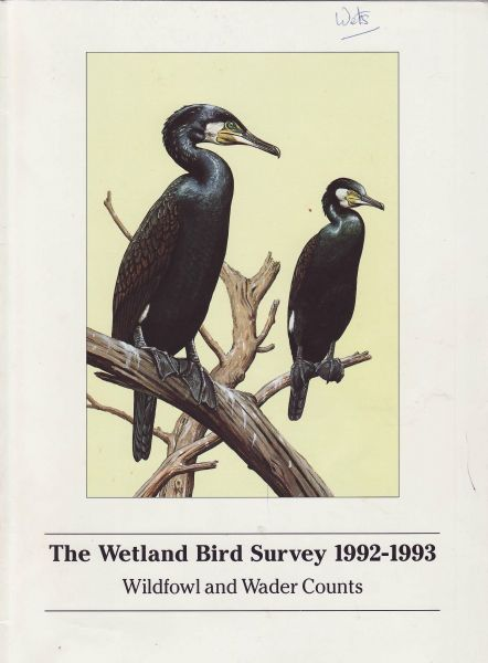 The Wetland Bird Survey 1992-93  Wildfowl and Wader Counts