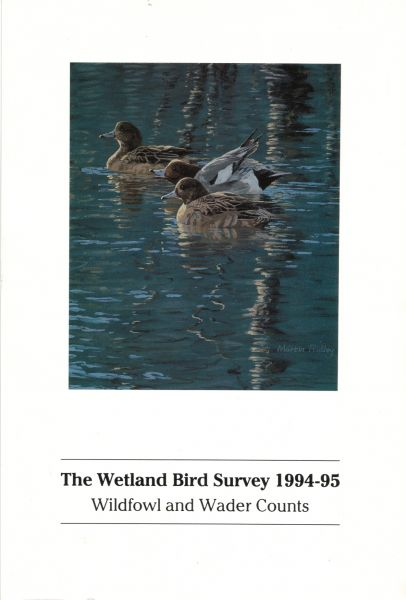 The Wetland Bird Survey 1994-95  Wildfowl and Wader Counts