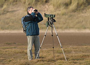 Surveying. Photograph by Al Downie