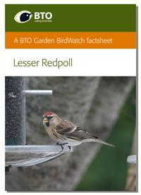 A BTO Garden BirdWatch leaflet