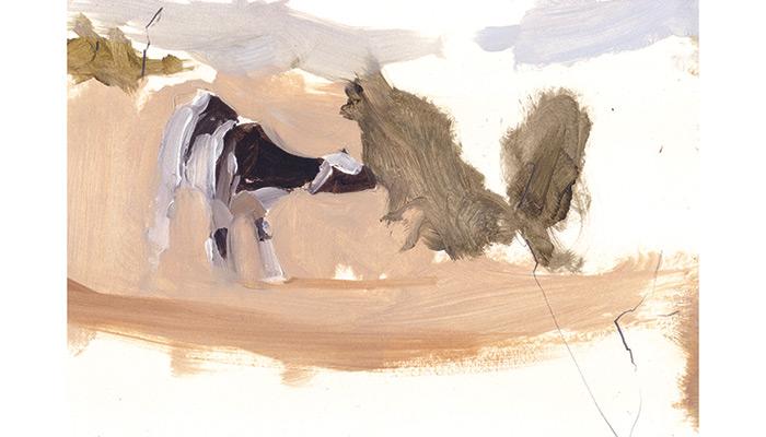 Grazing Goat. Esther Tyson