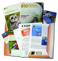 BTO members welcome pack