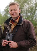 BTO President,Chris Packham
