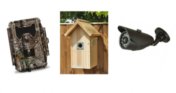 The 2nd prize winner will receive 3 different Gardenature camera systems