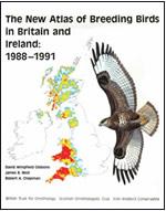 Atlas of Breeding Birds in Britain and Ireland 1988-1991