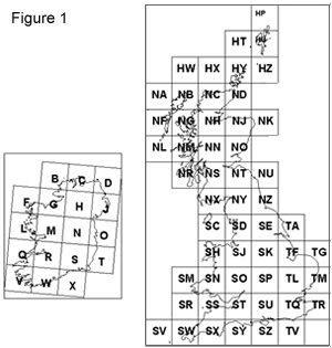 a complete grid reference consists of three parts an alphabetic prefix followed by numeric eastings and then numeric northings