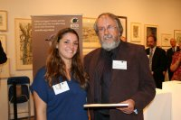 Dr Jim Cassels with Jo Winyard of The Marsh Christian Trust