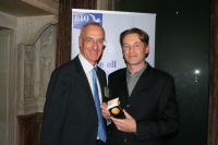 Chris Packham with BTO Director Andy Clements