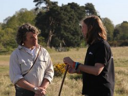 Martin Hughes-Games of Springwatch with Dr Dave Leech